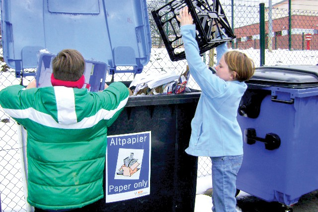 Students write book, recycle