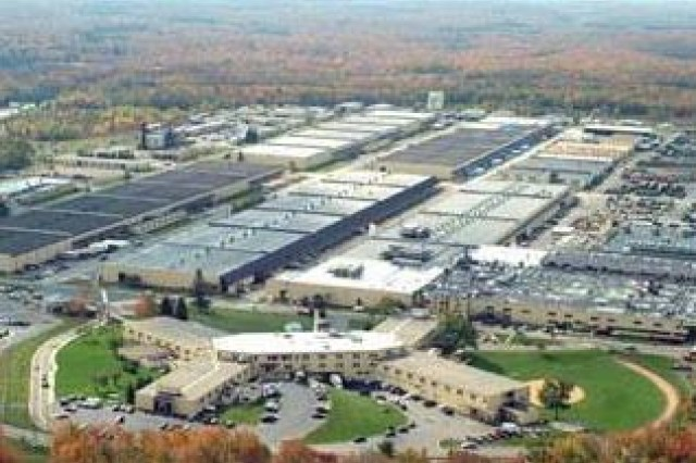 The Army says a round of base realignment and closure for fiscal year 2015 is necessary to save tax dollars, consolidate resources and adapt to force reductions. Tobyhanna Army Depot in Pennsylvania, pictured here, is among the many Army facilities where realignments occurred in the 2005 base realignment and closure process.