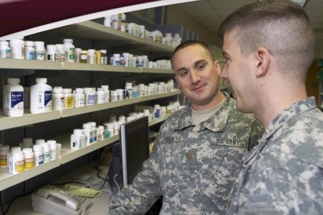 Ask your pharmacist about over-the-counter medication. To learn more, visit armymedicine.mil.