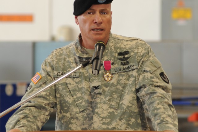 Corpus Christi Army Depot's outgoing Commander Col. Christopher B. Carlile concludes his leadership with a final address to the workforce.