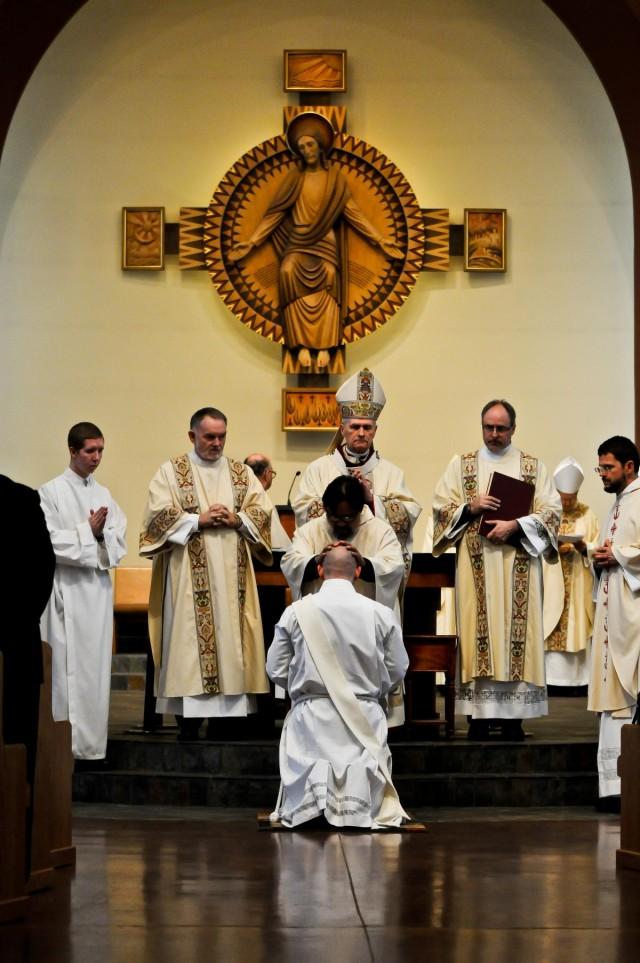 Army chaplain joins priesthood