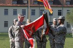 15th Engineer Battalion cases colors, heads to Grafenwoehr