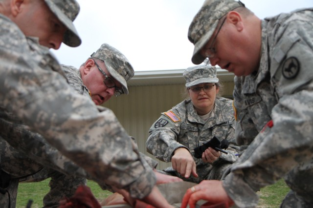81st Regional Support Command tests their life-saving skills