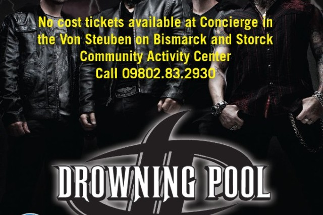 Drowning Pool in concert