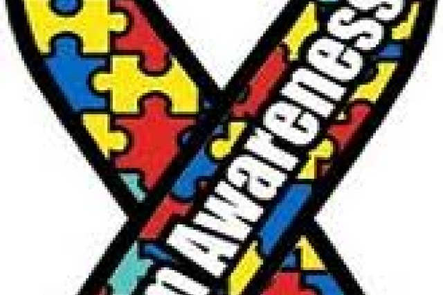 Each facet of the Autism Awareness Puzzle Ribbon represents a different aspect of the disorder.
