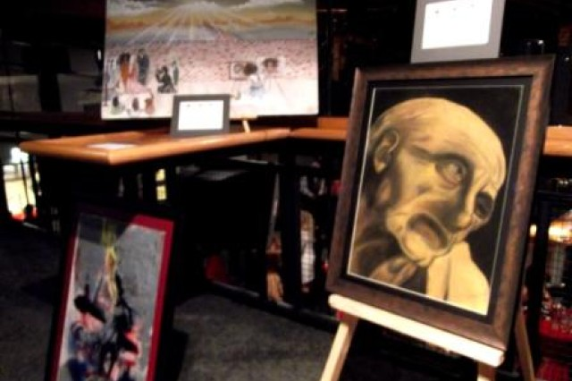 A student museum displays art from HMHS students at the third annual Celebration of the Arts.