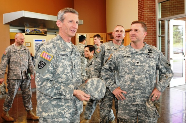 Deputy Chief of Staff G1 visits, addresses Army Ready and Resilient