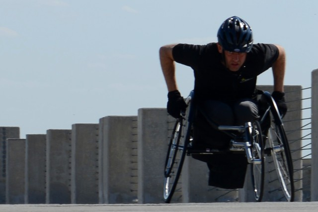 Warrior Game athlete inspired by abilities found in adaptive sports