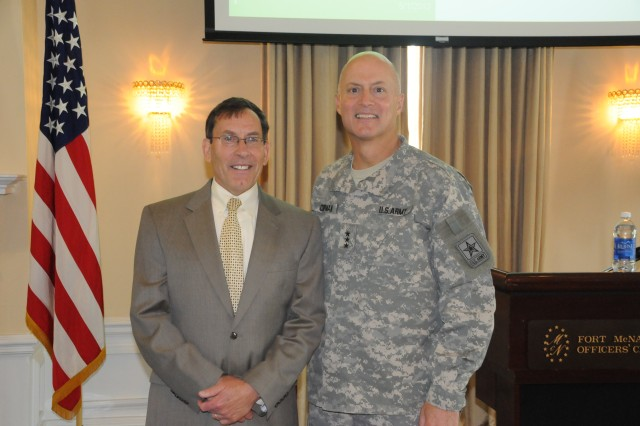 Soldiers celebrate Law Day at Fort McNair