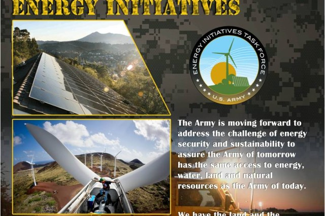 Army MATOC - First awards under $7 billion renewable energy contract