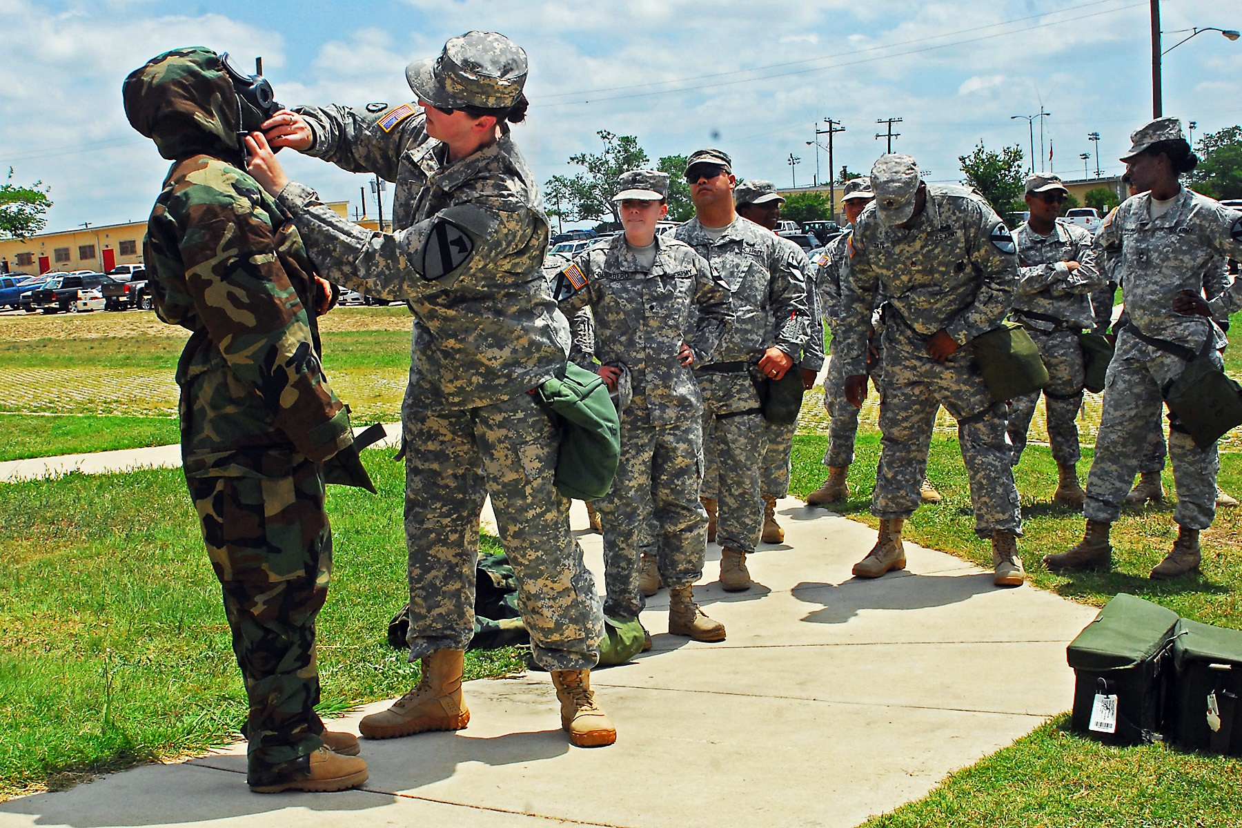 Hammer Troop Nails Down Cbrn Training Article The