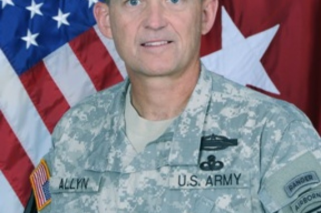 Lt. Gen. Daniel B. Allyn, shown here in his official photo as commanding general of the XVIII Airborne Corps, is scheduled to take command of U.S. Army Forces Command during a ceremony at 3:30 p.m. May 10 on Fort Bragg, N.C. The event will be broadcast live via the Internet to allow FORSCOM Soldiers across the country to hear their senior leaders' remarks.