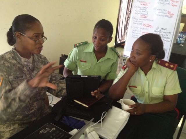 USARAF Soldiers help integrate women in Botswana Defense Force