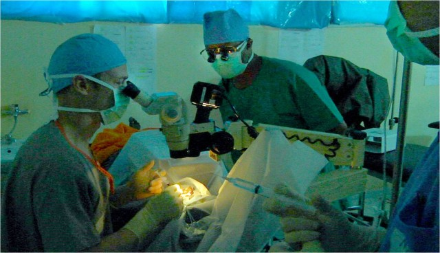 Army doctors work to ensure self-sufficient, secure Africa