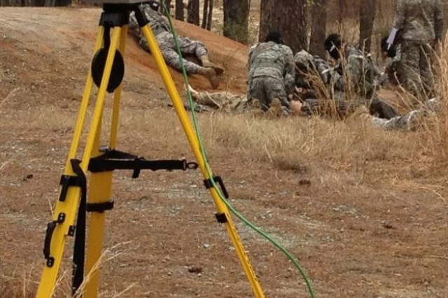 LiDAR based after action review system in use at Fort Bragg Medical Simulation Training Center