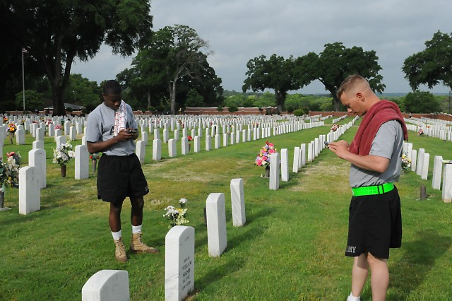 Technology assists in mapping Fort Benning Cemetery