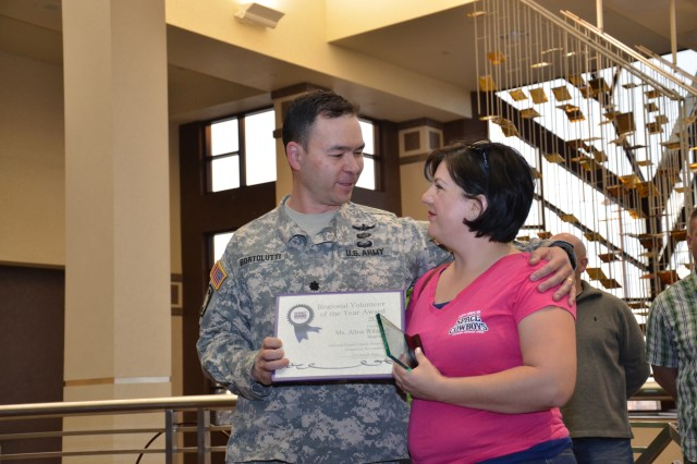 Proud Moment for an Army National Guard Volunteer