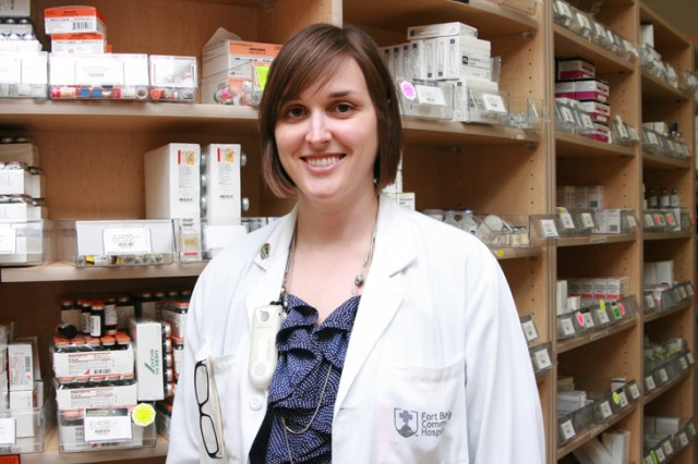 Hospital clinical pharmacist selected for competitive traineeship