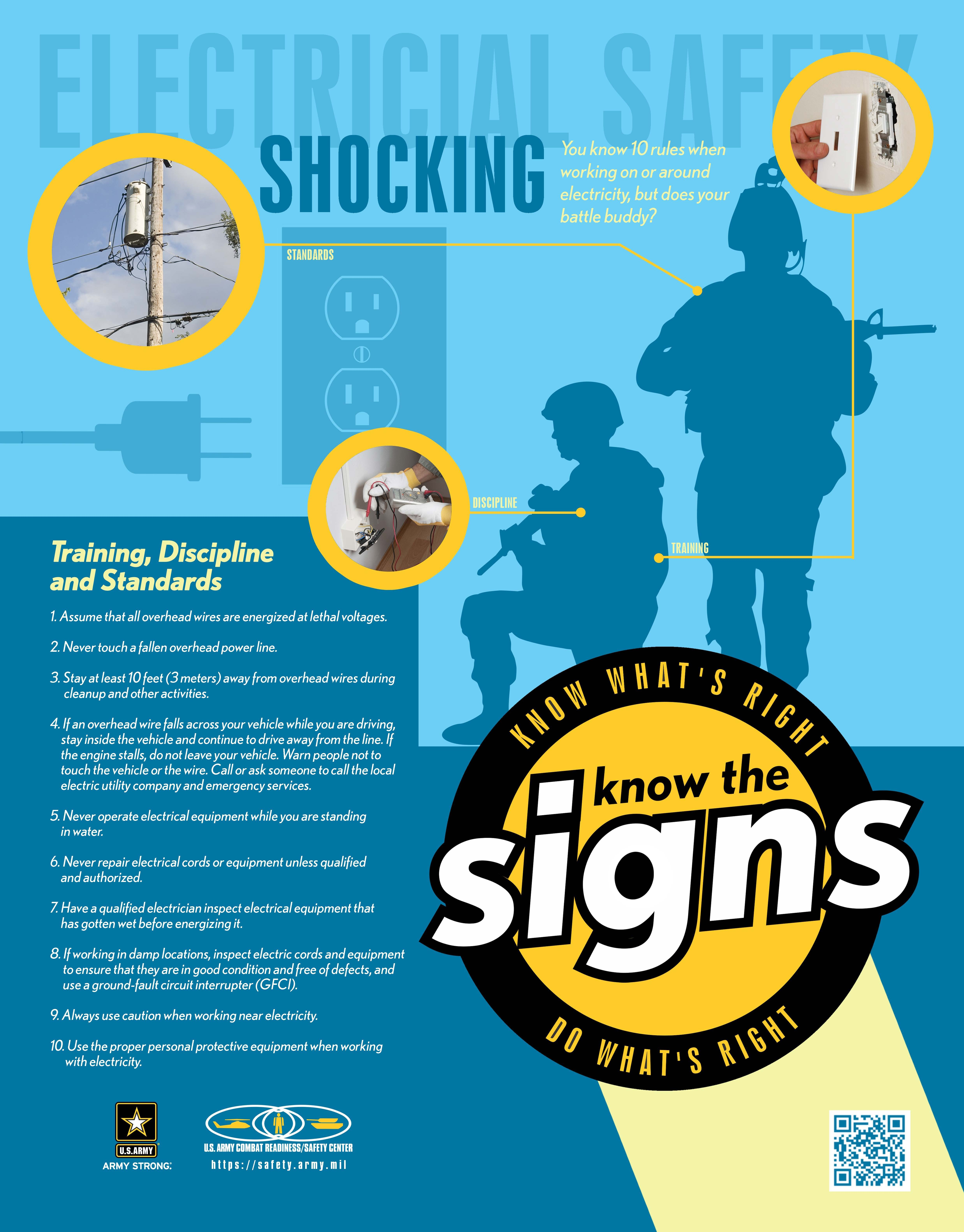 Electrical Shocks A Year Round Hazard Article The
