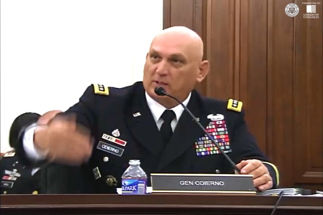 Both Secretary of the Army John M. McHugh and Chief of Staff of the Army Gen. Ray Odierno spoke on Capitol Hill, May 8, 2013, before the House Appropriations Committee, subcommittee on defense, about sexual assault.