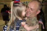 Welcome home! 'Saber' Soldiers return home from Afghanistan