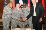 Fort Hood, Texas, Army Reserve 105th birthday celebration cake cutting