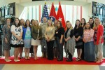 Fort Campbell Outstanding Military Spouse Award ceremony
