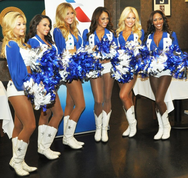 Dallas Cowboys Cheerleaders thank Yongsan Troops