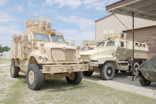 Vehicles to serve as reminder of MRAP legacy