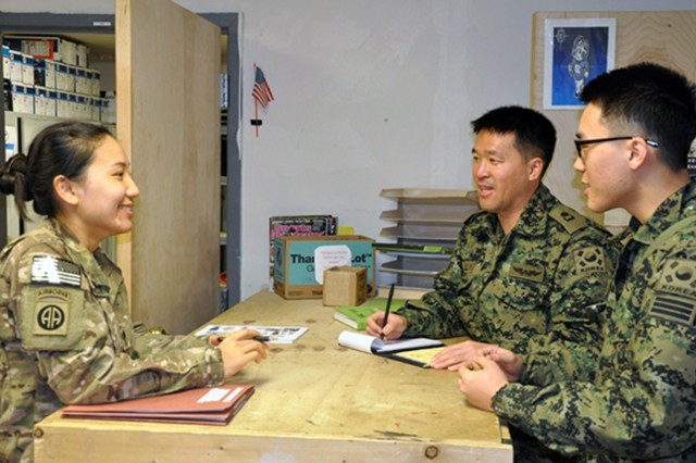 U.S. Forces Korea and the Republic of Korea engage in joint planning activities that traditionally require the aid of human translators. CERDEC's Korean Advanced Text Translator project is improving the accuracy of machine foreign language translation between English and Korean in the domain of mission command, allowing users to instantly translate documents using specific computer software.