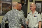 French Army logistics general visits FORSCOM, Fort Bragg