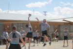 Maintainers spike morale with volleyball tournament