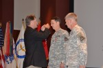 Col. Bob Marion receives the Order of Saint Michael, Silver Award