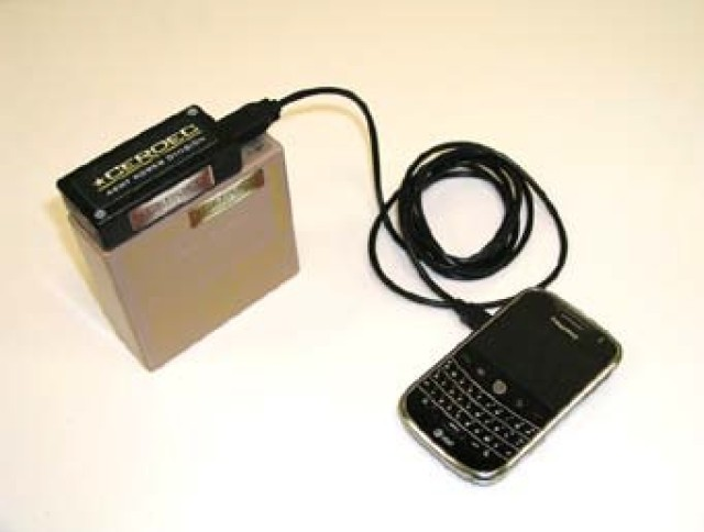 Previous battery charger research includes USB charger for smartphones