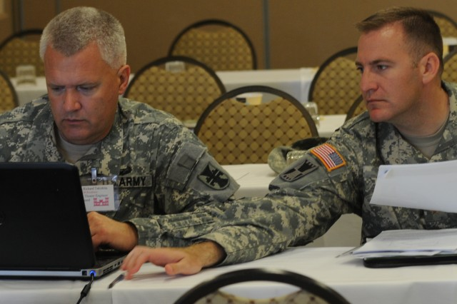 412th Theater Engineer Command Engineer Planning Exercise (ENTAPE) comes to a close