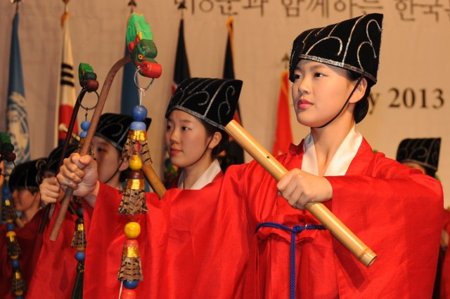 Korean Cultural Night honors U.S. troops in Seoul