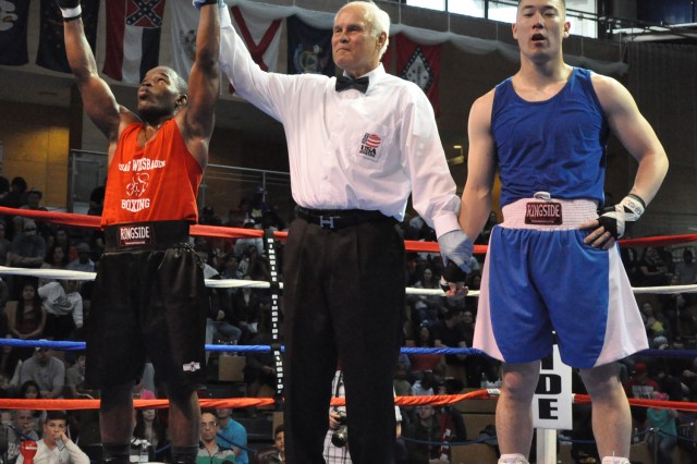 Team Wiesbaden takes home the gold at U.S. Forces Europe Boxing Championships