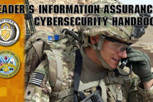 New handbook for Army leaders on cybersecurity