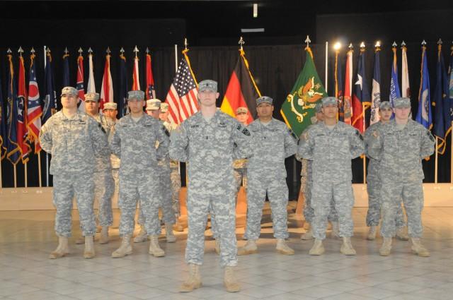 A proud platoon