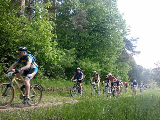 Biking the back country