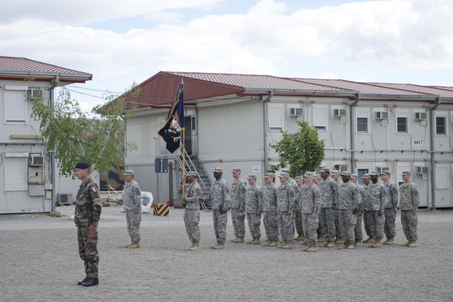 Camp Novo Selo welcomes new command