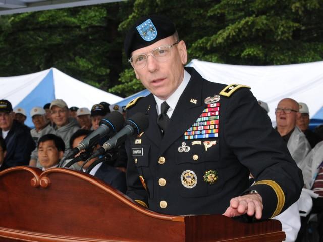 Korean War veterans honored at battle ceremony