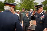 Sgt. Maj. of the Army salutes retired veteran