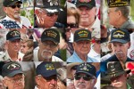 Hats veterans from every branch, every conflict since WWII attend Memorial Day ceremony
