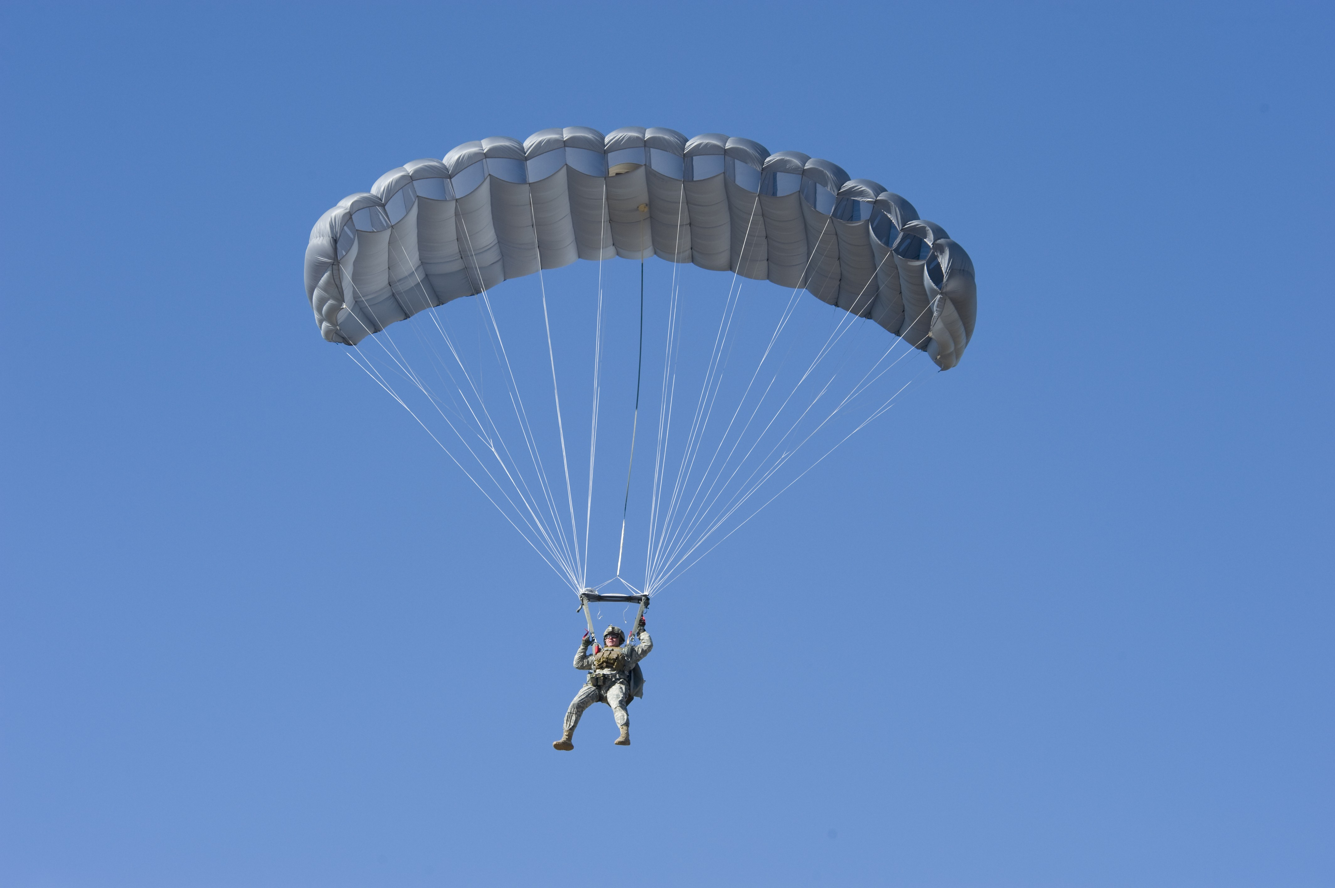 Airborne test directorate puts new parachute through its ...