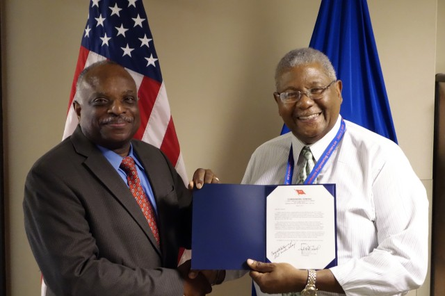 CECOM civilian is recipient of prestigious Louis Dellamonica Award