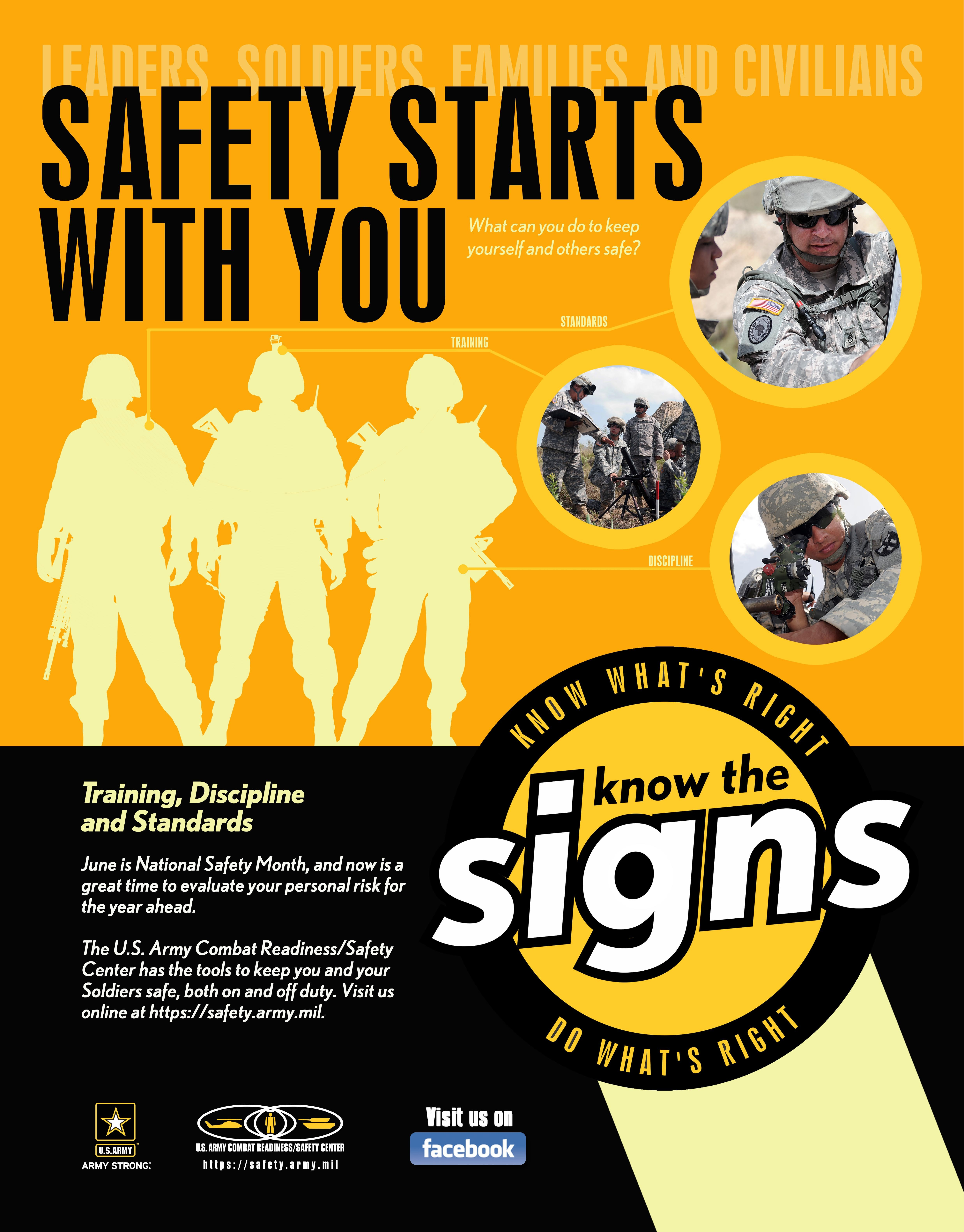 Army promotes National Safety Month | Article | The United ...