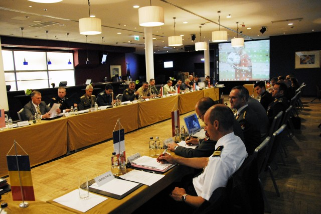 WARSAW, Poland - Senior military leaders of the National Territorial Commanders Committee met here May 27- 29. The three-day event's focus was to develop a data base to capture host nation support of best practices of its members in support of International Security Assistance Force/Operation Enduring Freedom, to create an action plan to strengthen interagency coordination to more efficiently respond to civil emergencies, and discuss membership expansion.