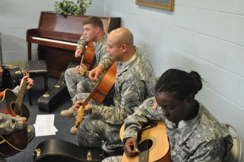 Wounded Warriors Soar Find Strength Through Music
