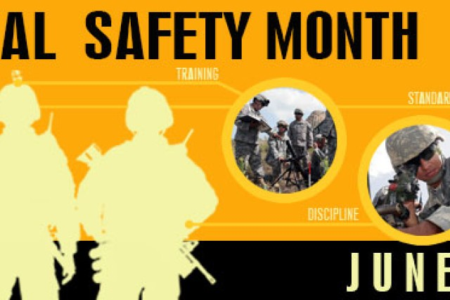 National Safety Month June 2013 poster.
